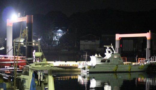 松浦アジング!新御厨漁港と星鹿漁港でナイトゲーム